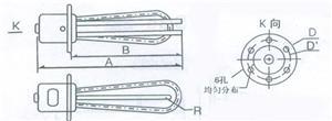 GYY4型电锅炉用电热管