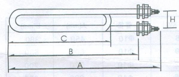 新萄京官网_GYS2型电锅炉用电热管
