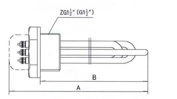 新萄京官网_GYSG6-2型电锅炉用电热管