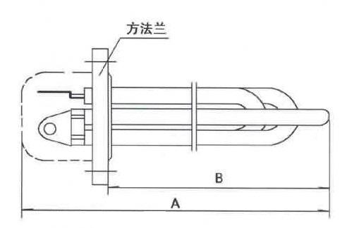 GYSG6-1型电锅炉用电热管