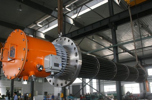700KW集束式电加热器