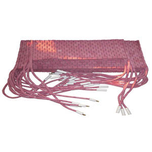 山东履带式陶瓷电加热器
