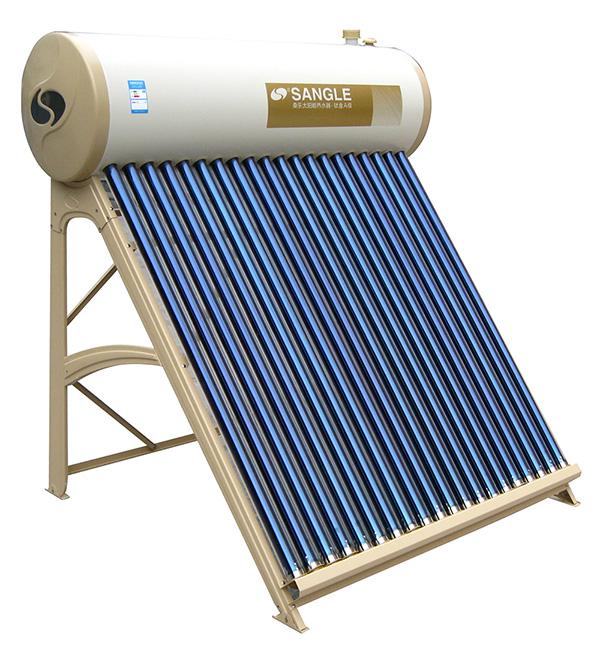 雲南鈦金太陽能熱水器