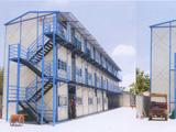 铜仁三层坡型顶活动房