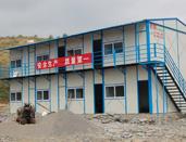 黔西坡顶型轻钢活动房