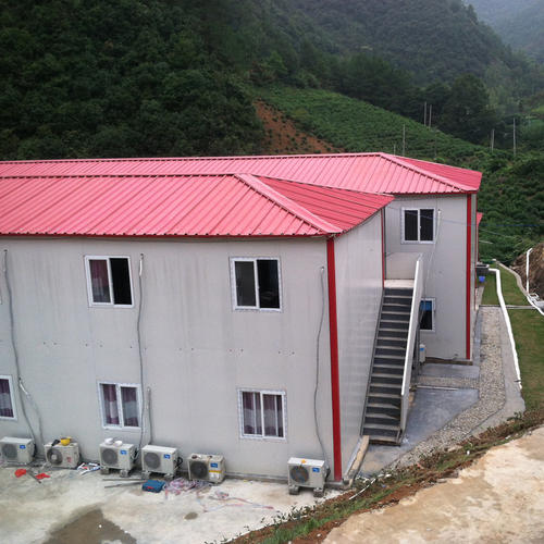 貴陽坡頂型活動房