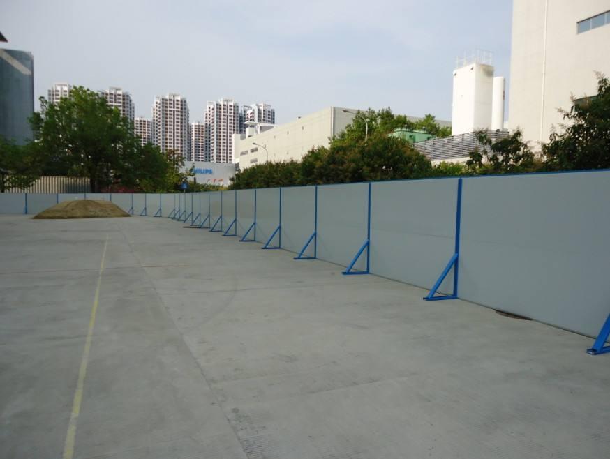 貴陽彩鋼活動圍牆