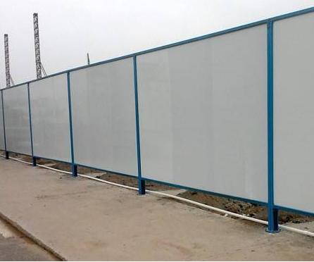 彩钢活动围墙