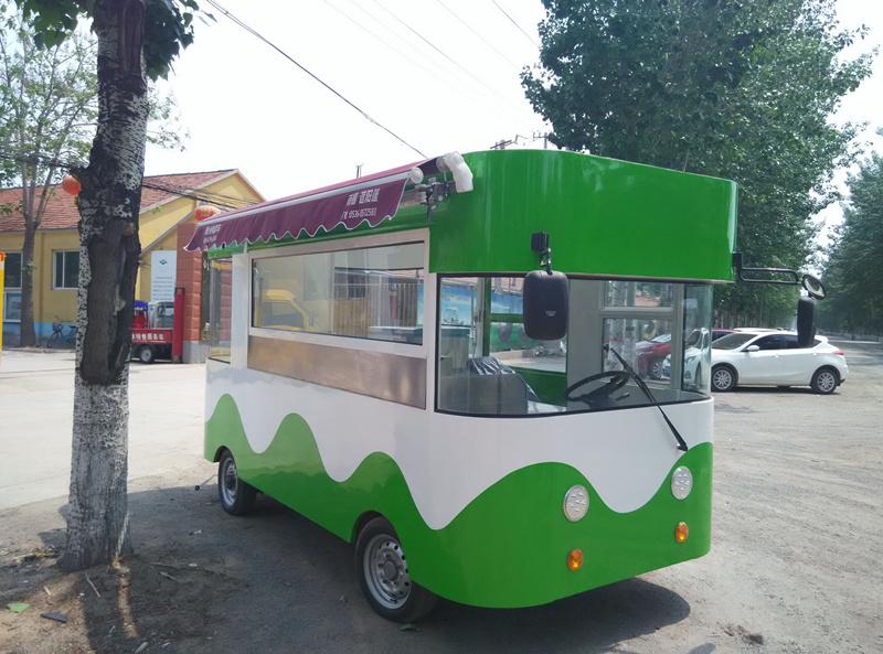 2016新款电动街景餐车
