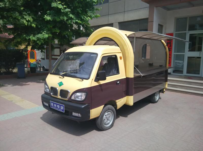 电动小卡餐车