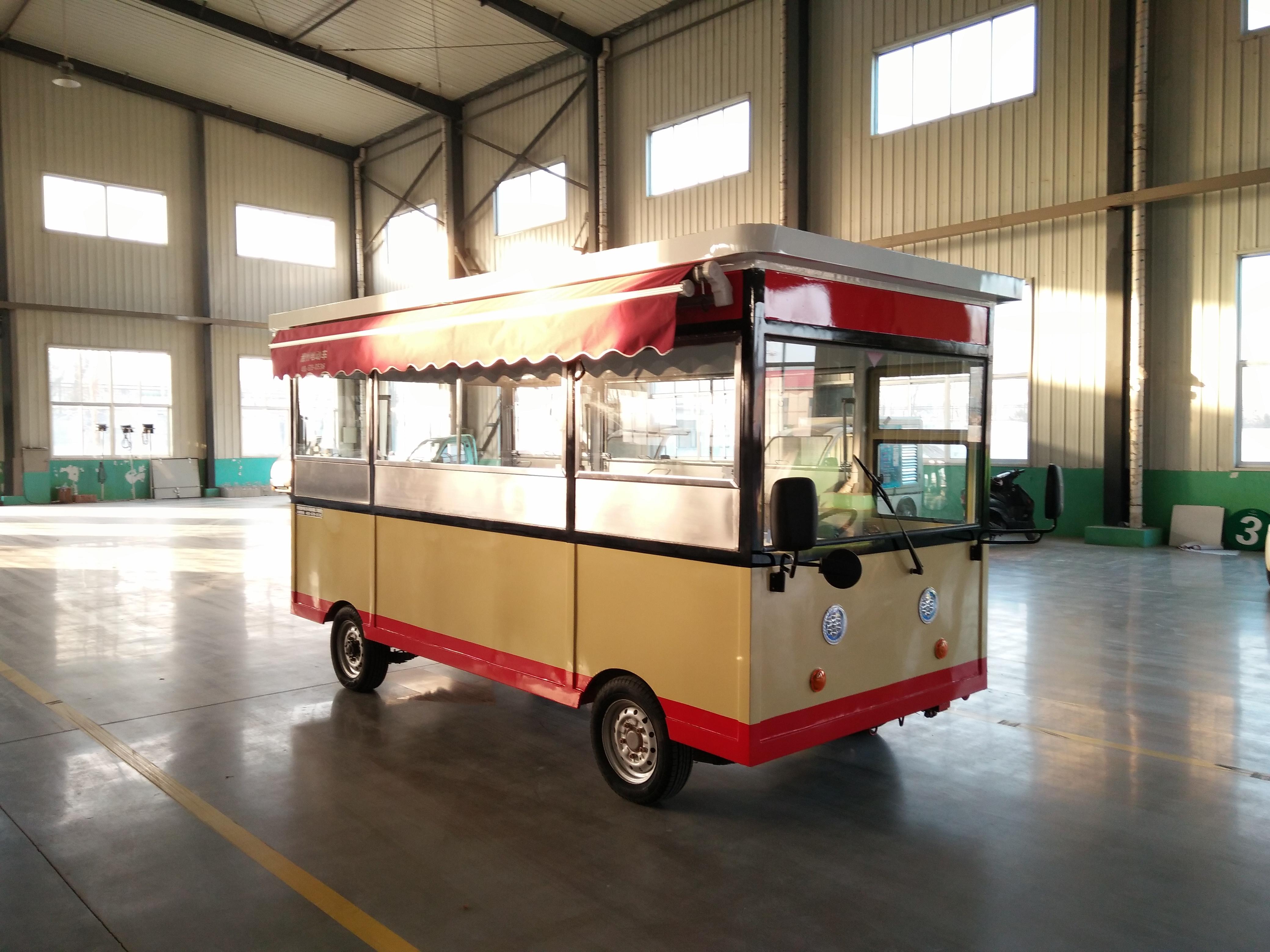 电动街景餐车