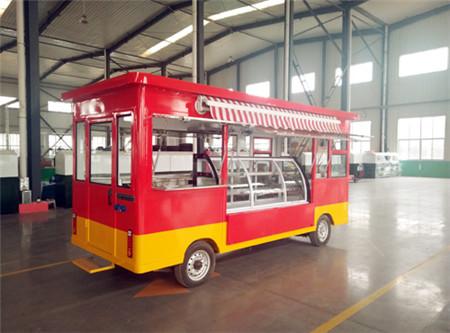 街景电动餐车