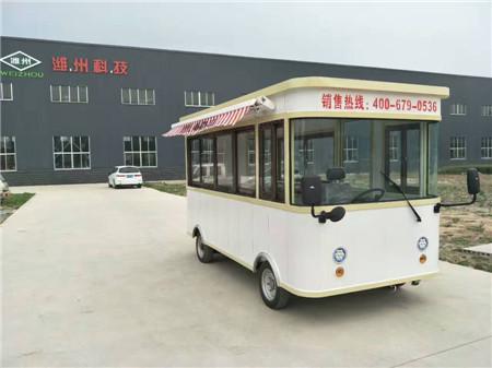新款街景餐车