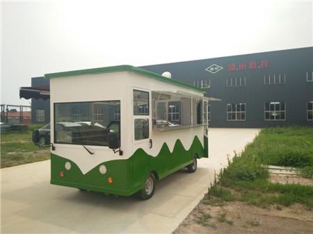 街景多功能餐车