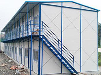 双层k式坡顶活动房