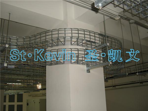 开放式桥架顶部吊装