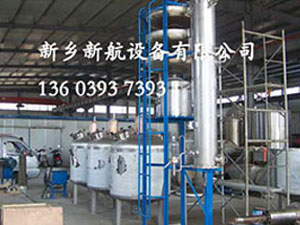 新型果渣蒸馏机组