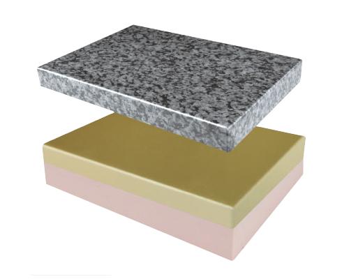 预涂金属漆 仿石纹漆铝饰面保温板