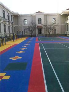 球场拼装地板
