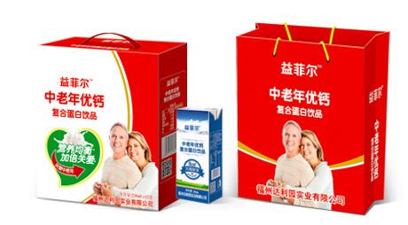 中老年优钙复合蛋白饮品