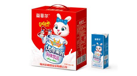 优酸果乳乳味饮品