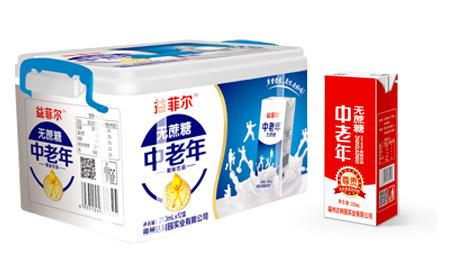 中老年果味饮品(塑料盒)
