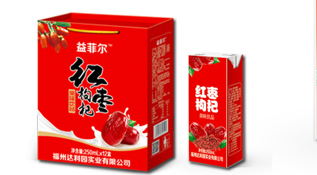 红枣枸杞果味饮品