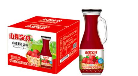 山楂果汁饮料