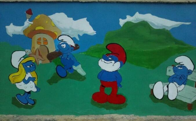 毕节长廊彩绘