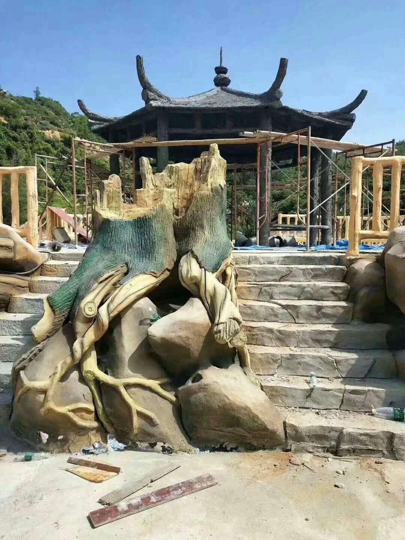 兴义贵州假山制作