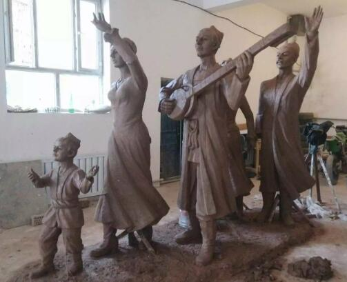 贵州人物雕塑设计