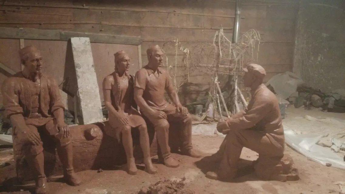 貴陽人物雕塑