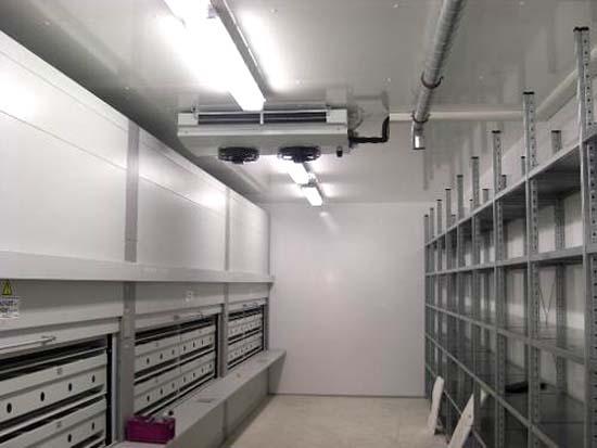 大型冷库安装设备