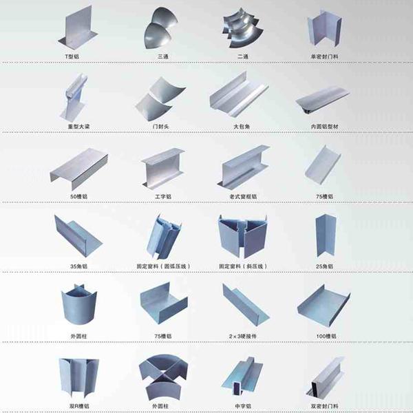 净化专用铝型材