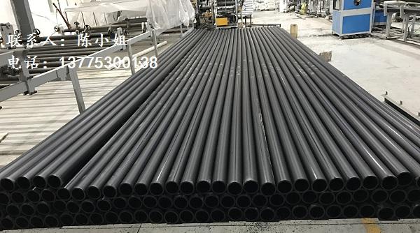 黑色纯HDPE管