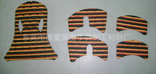 厂家供应EVA帽子内垫 护具EVA冷压成型
