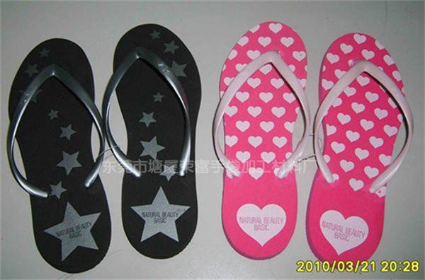 各种颜色EVA沙滩拖鞋