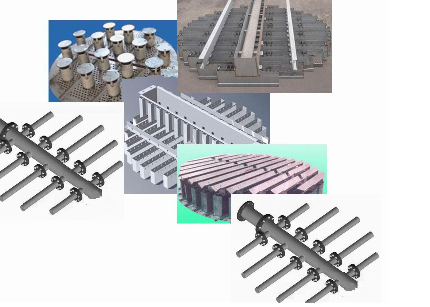 化产各塔器用喷嘴、再分布器
