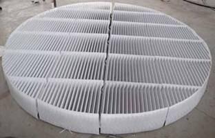 折波形三通道型除雾器