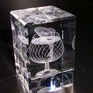 玻璃水晶内雕