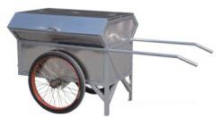 不锈钢大力手推车