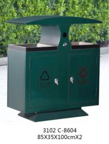 贵阳不锈钢垃圾桶