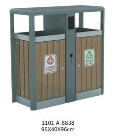 钢木垃圾桶销售