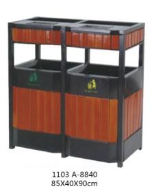 贵州钢木垃圾桶销售价格