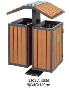 贵州钢木分类垃圾桶
