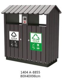 环保木条垃圾桶