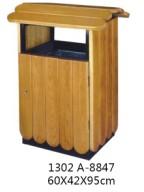 环保木条废物箱
