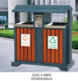户外分类垃圾桶