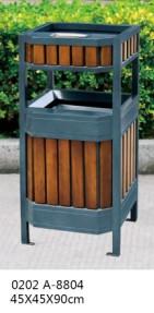 户外方形垃圾桶