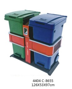 贵阳脚踏式垃圾桶